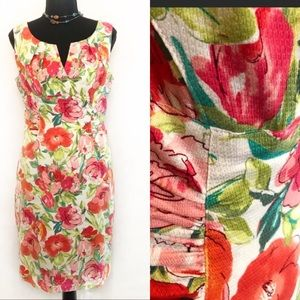 HP! Spring & Summer Floral Adrianna Papell Dress